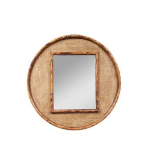 JW Limited Edition Custom Line Bamboo Mirror For Sale