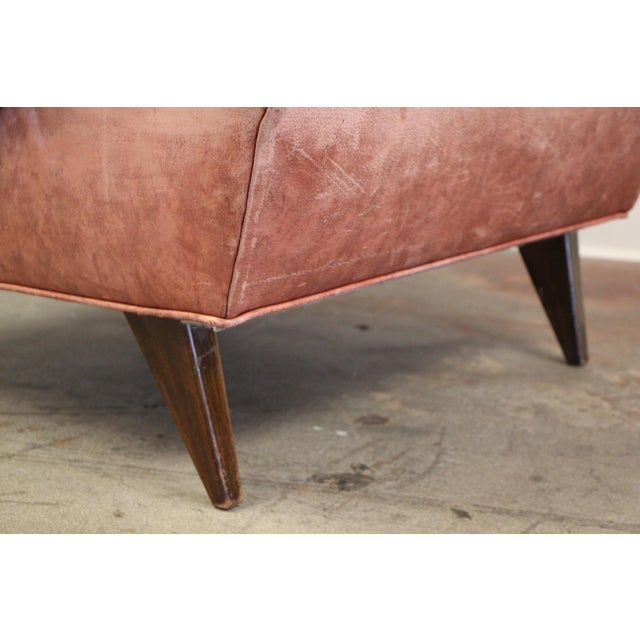 1950s Vintage Jens Risom for Knoll Custom Lounge Chair For Sale - Image 9 of 13