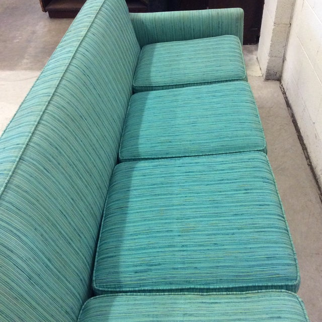 Bone Mid Century Thayer Coggin Sofa For Sale - Image 7 of 13
