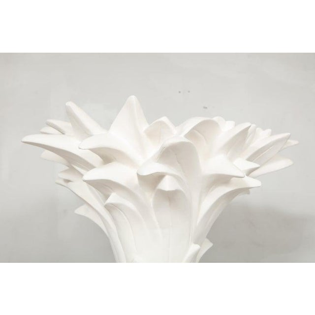 Custom plaster torchieres Please note that these are customizable. The turnaround time on these is 6-8 weeks