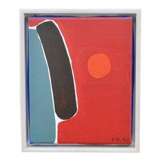 Composition, Painting by Tom Krøjer, '92 For Sale