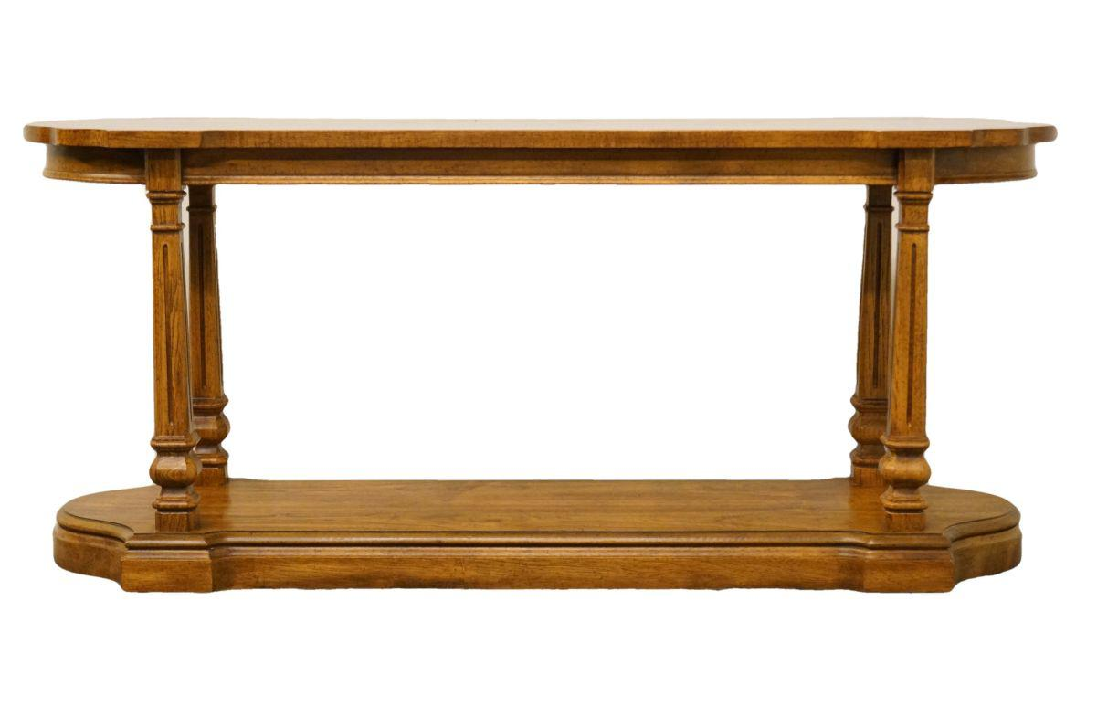 Gordons Furniture Italian Neoclassical 60 Sofa Table Chairish