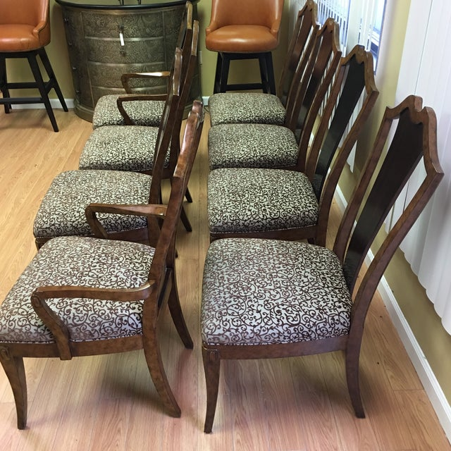 Henredon Frame Dining Chairs - Set of 8 - Image 9 of 9