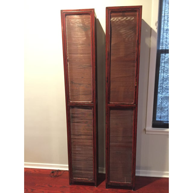 Vintage Asian Etageres- A Pair For Sale In Chicago - Image 6 of 6