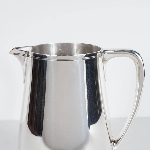 Metal Fine Tiffany and Company Sterling Silver Pitcher For Sale - Image 7 of 10