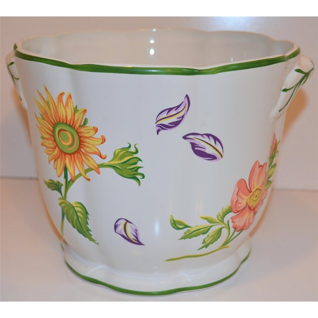 "Vintage Tiffany & Company ""Petals"" Cachepot For Sale - Image 9 of 13"