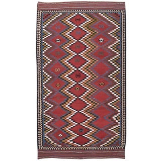 Antique Qashqai Kilim For Sale