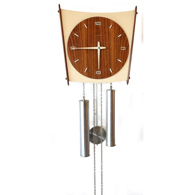 Junghans Germany Mid-Century Wall Clock - Image 3 of 6
