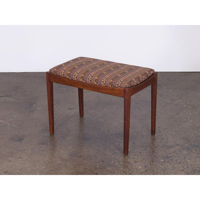Wood American Modern Walnut Bench For Sale - Image 7 of 7