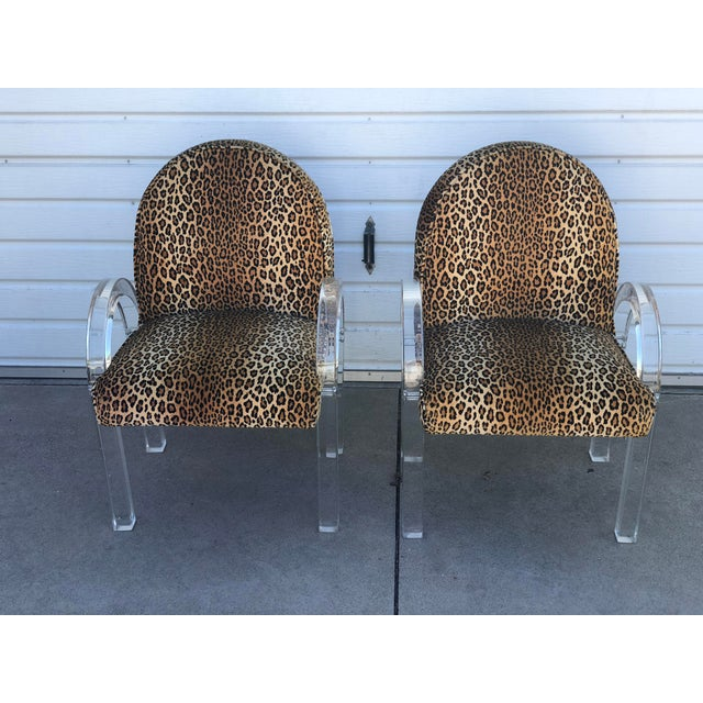 A matching pair of Charles Hollis Jones chairs made for the owner of the DeVorzon gallery in Beverly Hills. Provenance...