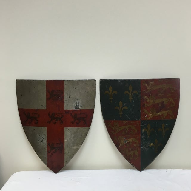 19th Century English Shields - A Pair - Image 2 of 10