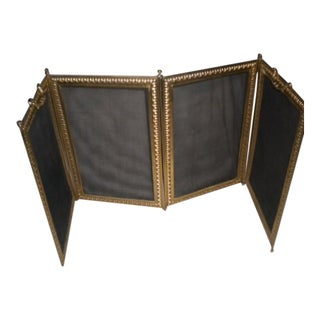 French Louis XVI Style Fire Screen For Sale