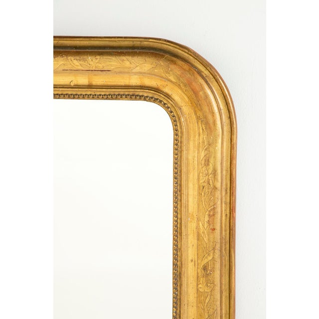 Mid 19th Century Louis Philippe Giltwood Mirror For Sale In San Francisco - Image 6 of 6