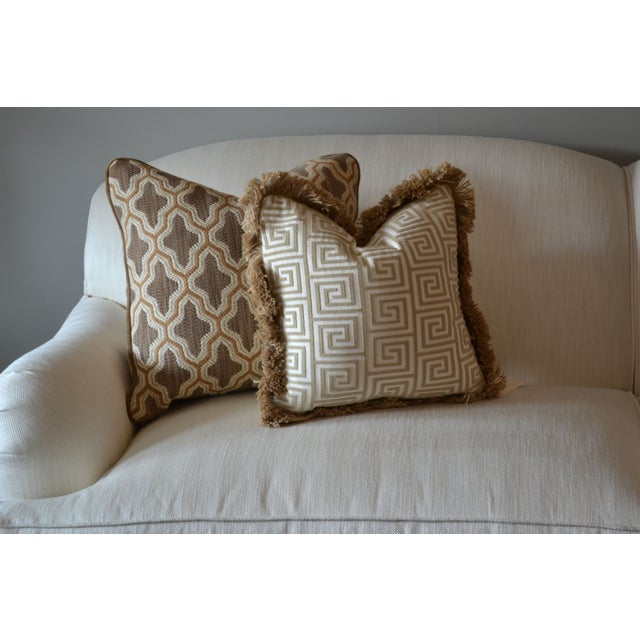"Century Furniture Fabric Doeskin Pillow - 20"" x 20 - Image 4 of 4"
