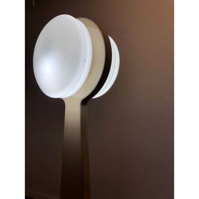 Vintage Porcelain Floor Lamp With Three Lighting Options For Sale In Seattle - Image 6 of 13