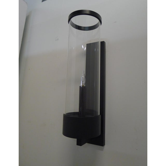 Contemporary Contemporary Hurricane Sconces by Paul Marra For Sale - Image 3 of 7