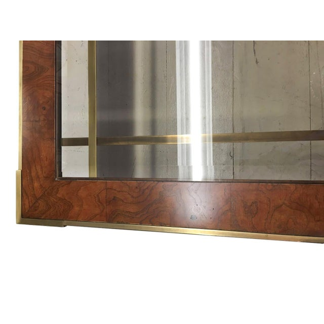 Brass, Wood and Smoked Glass Coffee Table - Image 3 of 4