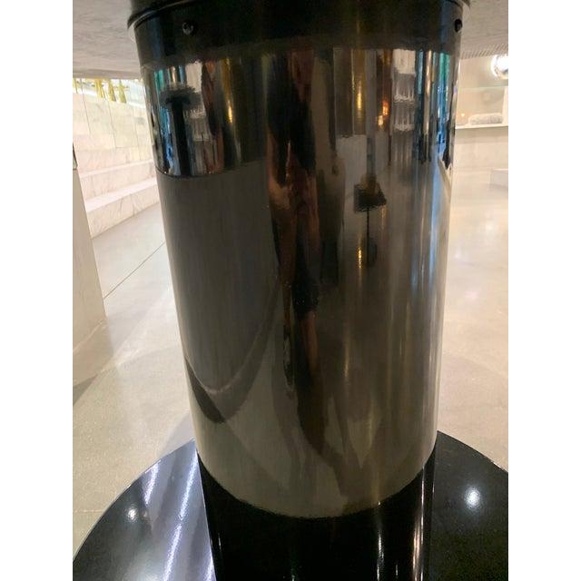Tom Dixon Primavera Table 1100mm withTube Black Base For Sale - Image 9 of 11