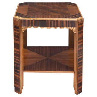 French Art Deco Center Table, circa 1935 For Sale