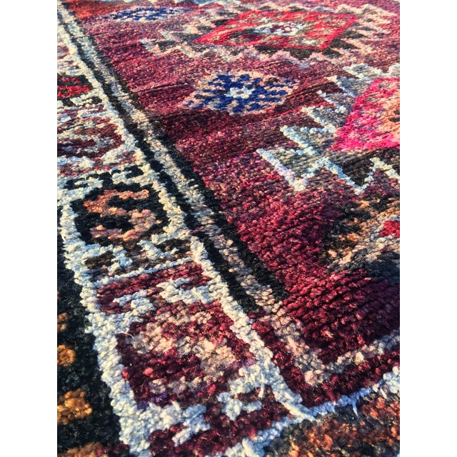 "Vintage Turkish Oushak Runner - 3' x 9'2"" - Image 8 of 11"