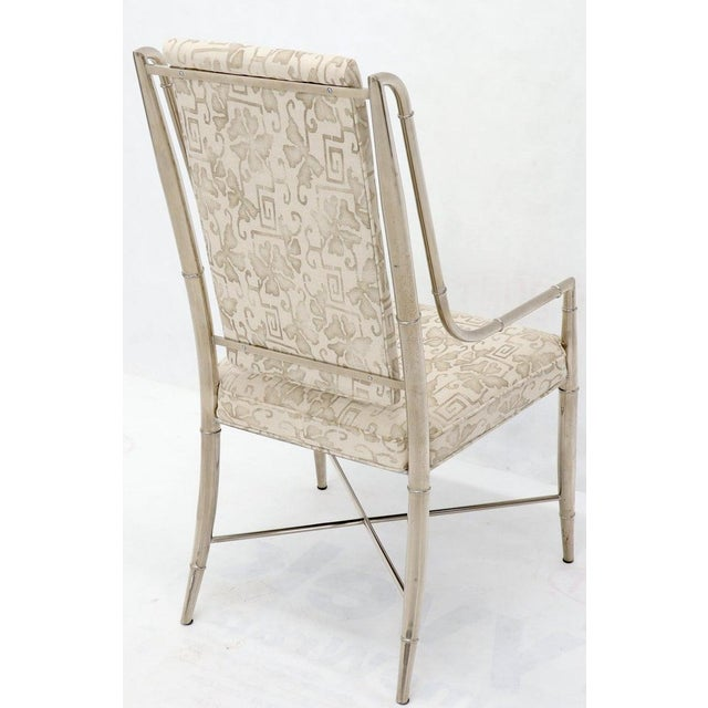Imperial Dining Room Chair by Weiman / Warren Lloyd for Mastercraft in Chrome For Sale - Image 6 of 13