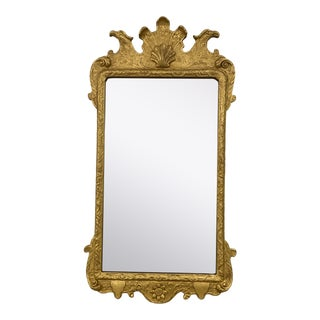 Vintage 1930s Gold Mirror For Sale