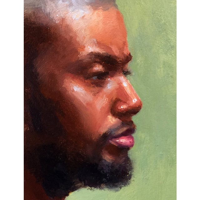 'Portrait of African American Man' Painting - Image 2 of 3