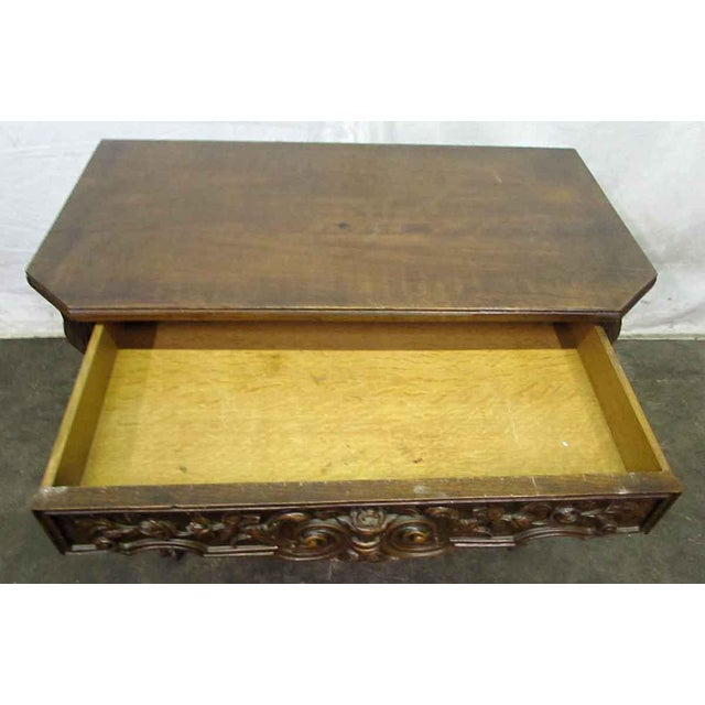 Brown Bear Claw Wooden Console Table For Sale - Image 8 of 10