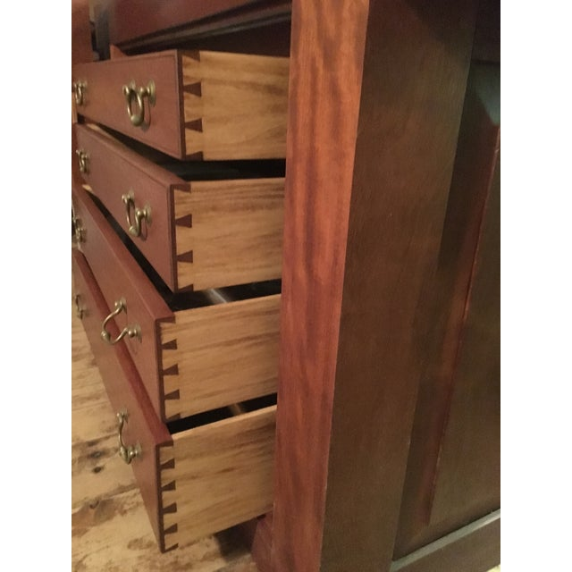Modern Custom Hand Built Work Bench by Swiss Craftsman Andrew Sykes For Sale - Image 3 of 12