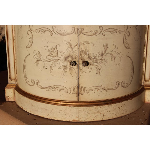 Karges Painted Demilune Nightstand - Pair For Sale - Image 9 of 11