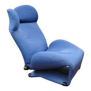 """1980s Modern Toshiyuki Kita Cassina """"Wink"""" Chair For Sale"""