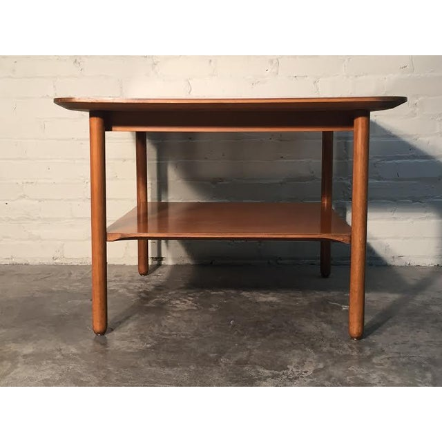 Mid-Century Modern Corner End Table - Image 6 of 10