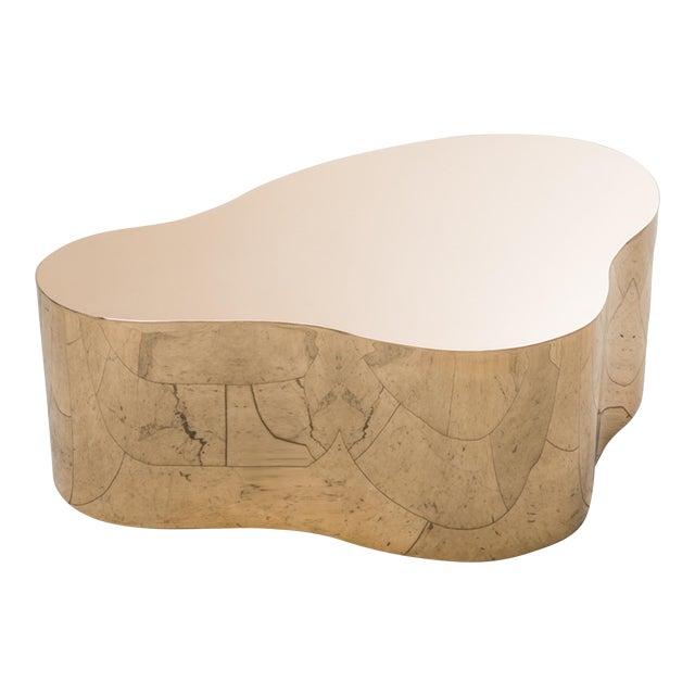"""Karl Springer LTD, Bronze Free Form Low Table """"C"""", USA, 2016 For Sale"""