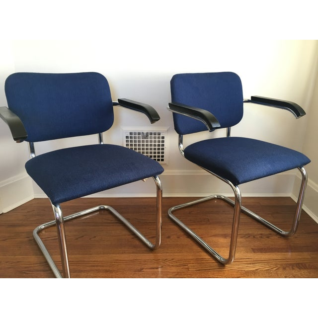 Marcel Breuer for Thonet Cesca Chairs - A Pair - Image 2 of 9