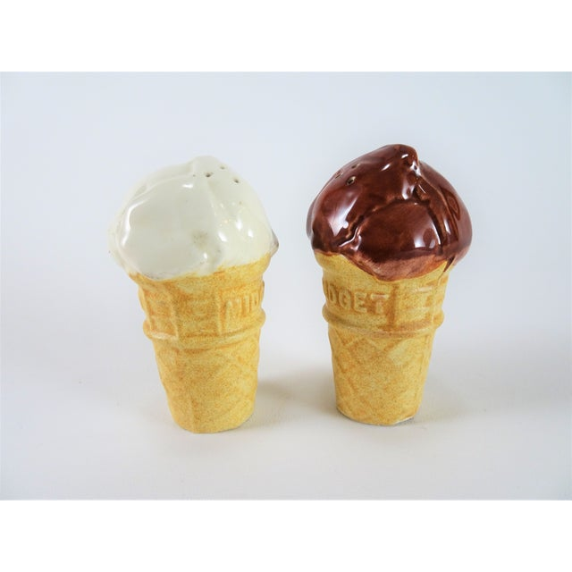 Americana Ice Cream Salt and Pepper Shakers - a Pair For Sale In Seattle - Image 6 of 6