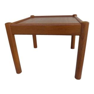 Mid-Century Danish Modern Teak Stand/Table For Sale