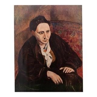 Picasso Gertrude Stein Original Period Lithograph For Sale