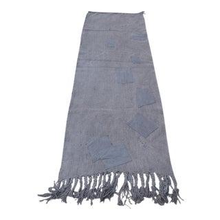 Antique Handmade Turkish Hemp Carpet For Sale
