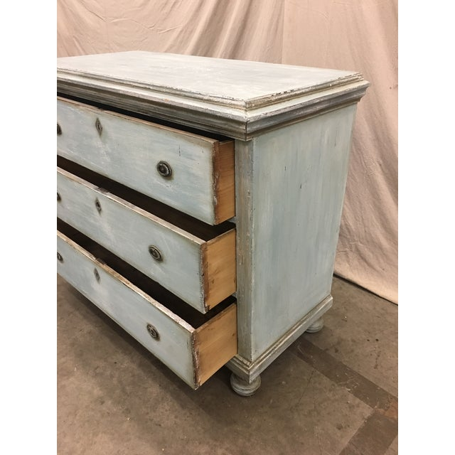 Late 18th Century 18th C French Painted Commode Dresser For Sale - Image 5 of 13