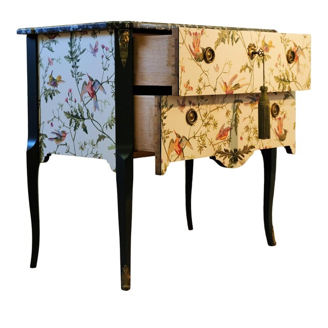 French 1920s Louis XV Style Chest Of Drawers For Sale - Image 3 of 12