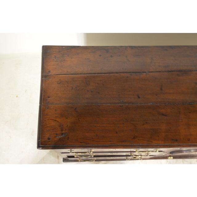 Gold 18th Century English Oak Dresser Base For Sale - Image 8 of 10