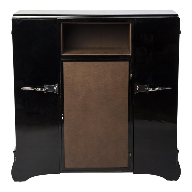 1930's Art Deco Highboard Cabinet For Sale