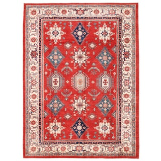 "Pasargad Kazak Wool Rug - 8'11"" X 11'11"" For Sale"