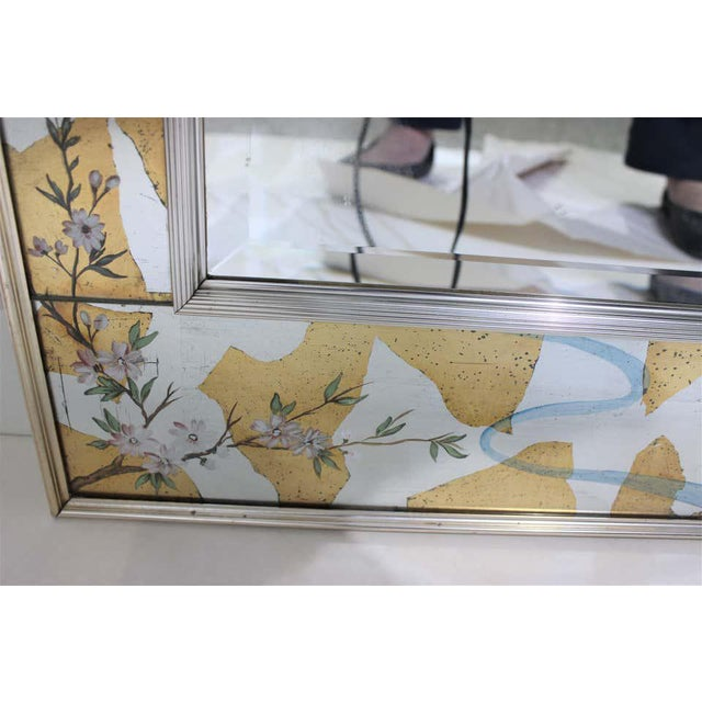 Vintage La Barge Églomisé Mirror For Sale - Image 9 of 13