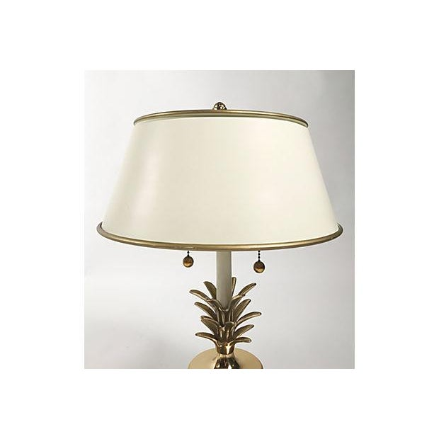 Hollywood Regency Pineapple Lamps - A Pair For Sale - Image 4 of 10