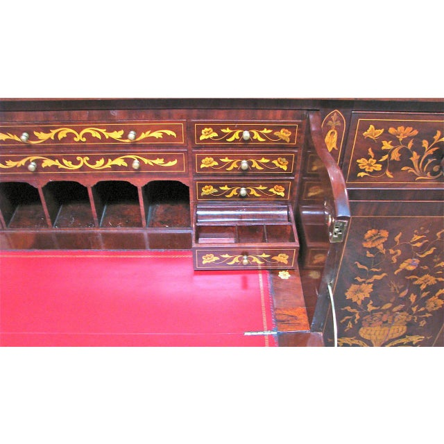 Dutch Marquetry Cabinet or Fall Front Desk - Image 3 of 7