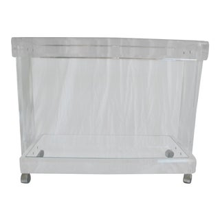20th Century Hollywood Regency Lucite Bar For Sale