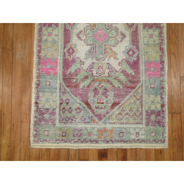 Vintage Turkish Rugs - a Pair - 2'8'' x 4'8'' For Sale - Image 9 of 9