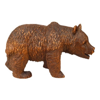 19th Century Continental Black Forest Bear Sculpture For Sale