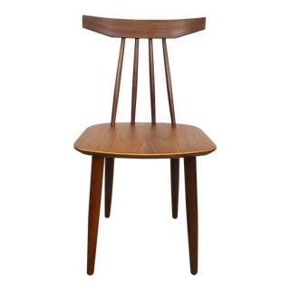 Danish Modern Side Chair by Frem Rojle For Sale